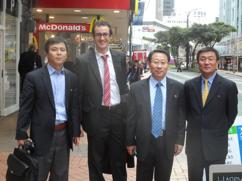 DPR-Korea Officials Visit Wellington, New Zealand