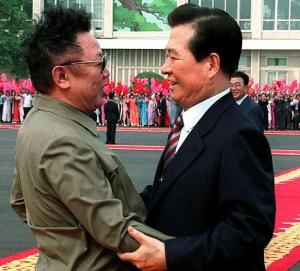Chairman Kim Jong-Il of the National Defence Commission of the Democratic People's Republic of Korea and President Kim Dae-Jung of the Republic of Korea